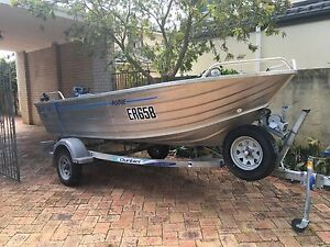 4.2m BlueFinn Dinghy with 30hp Yamaha 2013 Innaloo Stirling Area Preview