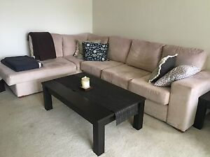 Dark wood coffee table Mosman Mosman Area Preview