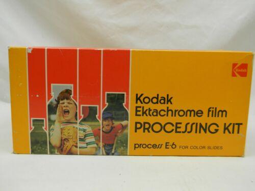 Kodak Ektachrome Film Processing Kit E6 Complete In Box