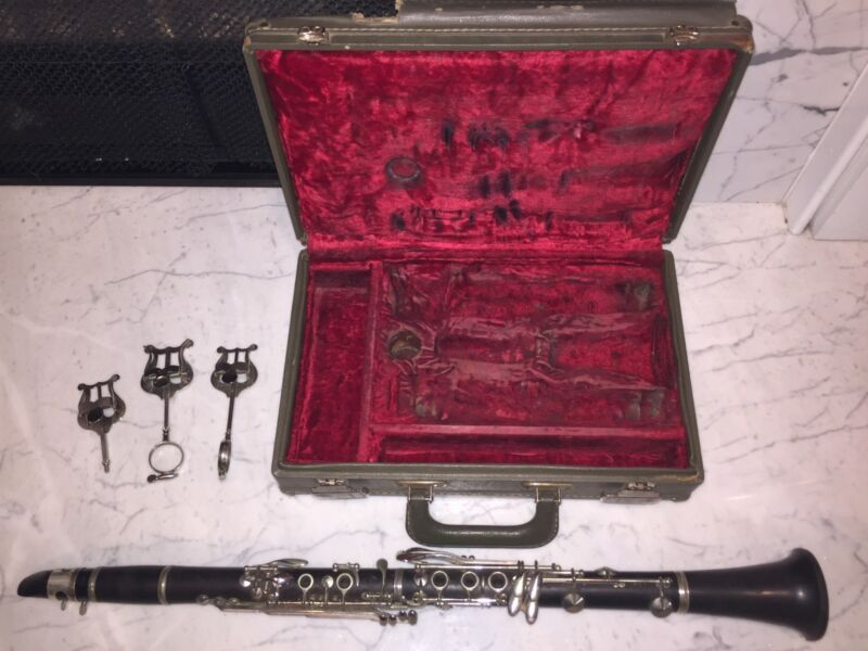 LEBLANC Paris NOBLET  N France Wood Bb Clarinet Early 1965? Serial 43134