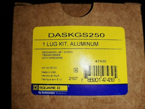 Square D DaskGS250 Lug kit  NEW!!