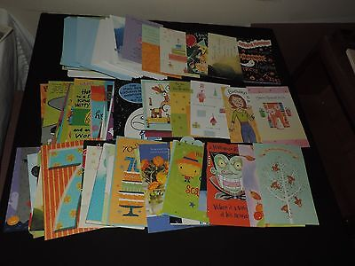 AMERICAN GREETING CARDS HALLOWEEN & BIRTHDAY 60 wt  ENVELOPES UNUSED - Halloween Birthdays Cards