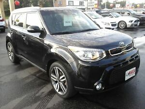 2014 KIA SOUL SX- PANORAMIC SUNROOF, LEATHER HEATED SEATS, REAR