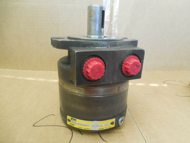 Parker Hydraulic Motor 110A189BM0R1 Rebuilt and Unused Since