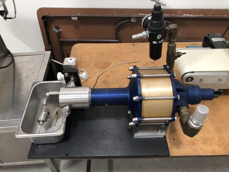 Microfluidics 110S Microfluidizer with Ceramic Processing Module