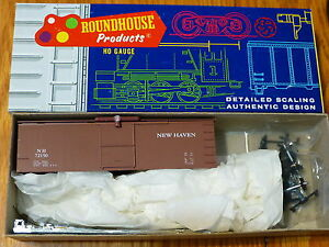 Roundhouse HO #3284 (Rd #72150) New Haven Old Time 36' Box Car (kit)