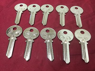 Yale By Ilco 990 Key Blanks Set Of 10 - Locksmith