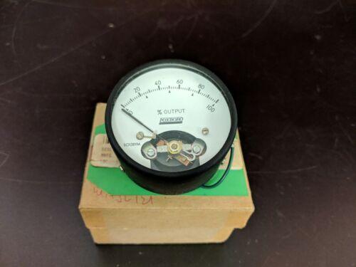 Foxboro B0138YM Analog Meter Indicator 0-100% NOS
