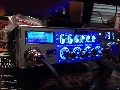 New Road King 40 Channel Cb radio Peaked and tuned, Mosfet 520 !!