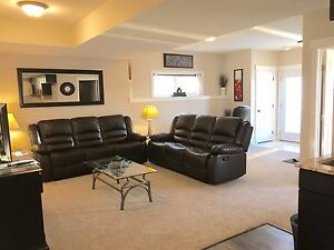 Furnished walkout suite utilities included in Fort Saskatchewan