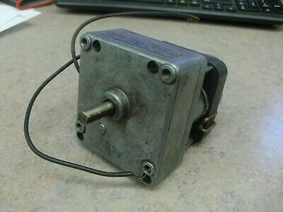 2 Rpm Compact Ac Gear Motor