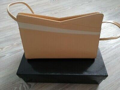AVA SEOHs Genuine designer Jacque Vert ladies clutch bag with narrow strap