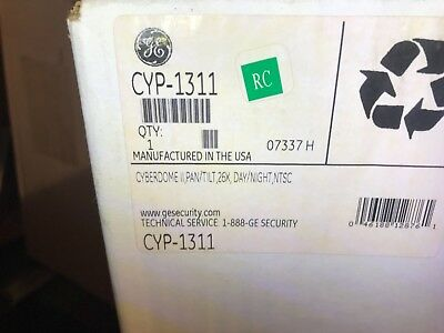 Brand New Ge Security Cyp-1311 Cyberdome Ii 26x Daynight Ptz Camera 2845