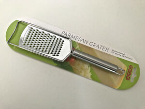 NEW Apollo Stainless Steel Hand Grater Parmesan Nutmeg Cheese lemon Flat Metal