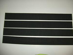 Lot of 4 sheets of 10 Strips/Pads Neoprene Foam 1/16