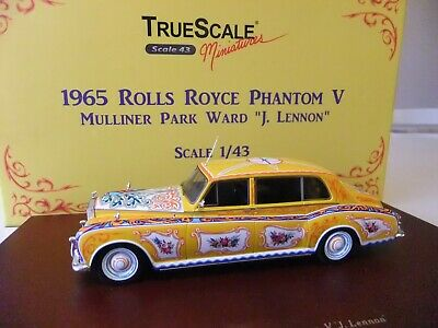 """TrueScale Minatures1965 Rolls-Royce Phantom V Mulliner Park Ward """"John Lennon"""""""