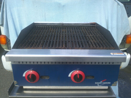 Rocket Cooking Rcrb24 Gas Countertop Radiant Charbroiler