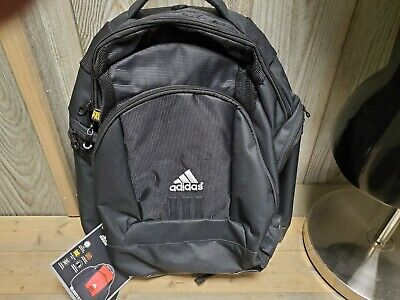 Adidas Velocity II Black Backpack (321696) Brand New with Tags