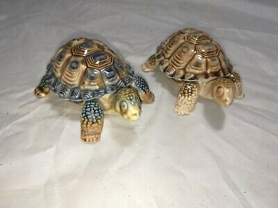 2 x Vintage ~Wade Tortoise Trinket Boxes ~VGC for sale  Shipping to Ireland