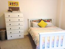 white slat queen bed Woollahra Eastern Suburbs Preview