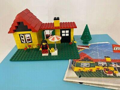 Vintage Lego - 1981 - Legoland - #6365 Summer Cottage Set with Instructions