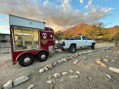 Neapolitan Pizza Food Trailer For Sale With Truck To Tow If Needed