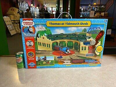 BIG Thomas & Friends NIP SEALED Trackmaster Railway Train System TIDMOUTH SHEDS