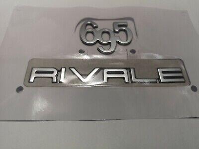 """Schriftzeichen /""""695/"""" emblem scritta """"695/"""" lettering Fiat Abarth 695"""