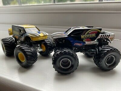 Hot Wheels Monster Jam Truck Wolverine 1/64 Used Condition