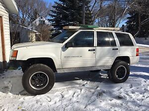 1998 Jeep Cherokee Lifted Tons of work and money invested.