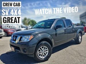 2015 Nissan Frontier SV One Owner No Accidents FREE Delivery