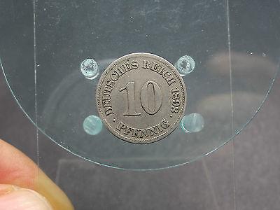 10 Pfennig 1893 E Deutsches Reich (28216)
