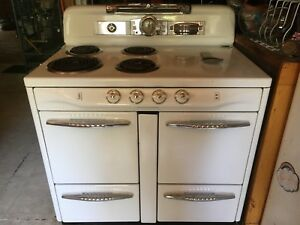 Retro Electric Stove