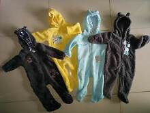 Size 0 Neutral-Boys Baby Toddler Hooded Winter Coveralls -RRP$15 East Brisbane Brisbane South East Preview