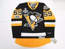 JAKE GUENTZEL PITTSBURGH PENGUINS HOME 2017 STANLEY CUP FINAL REEBOK JERSEY