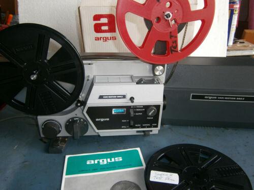 Dual 8mm   Argus vari-spd zoom Lens Serviced/film tested!