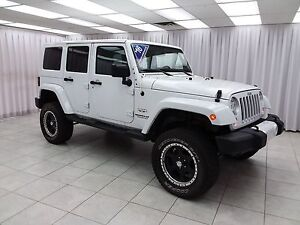 2016 Jeep Wrangler SAHARA UNLIMITED 4x4 SUV w/ BLUETOOTH, HEATED