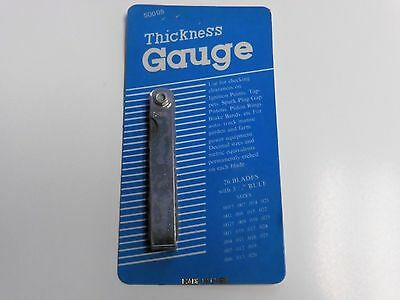 Feeler Gauge Thickness Gauge 26 Leaves From 0.0015 To 0.25 3-12 L X 12w