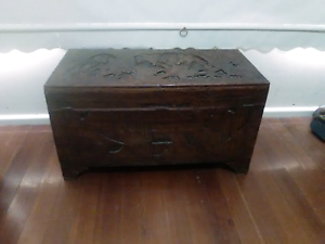 Camphor wood  chest Heidelberg Banyule Area Preview