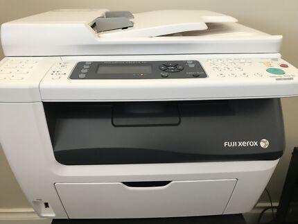 Printer - Fuji Xerow CM215 FW - Near new, 10 new cartridges worth $996