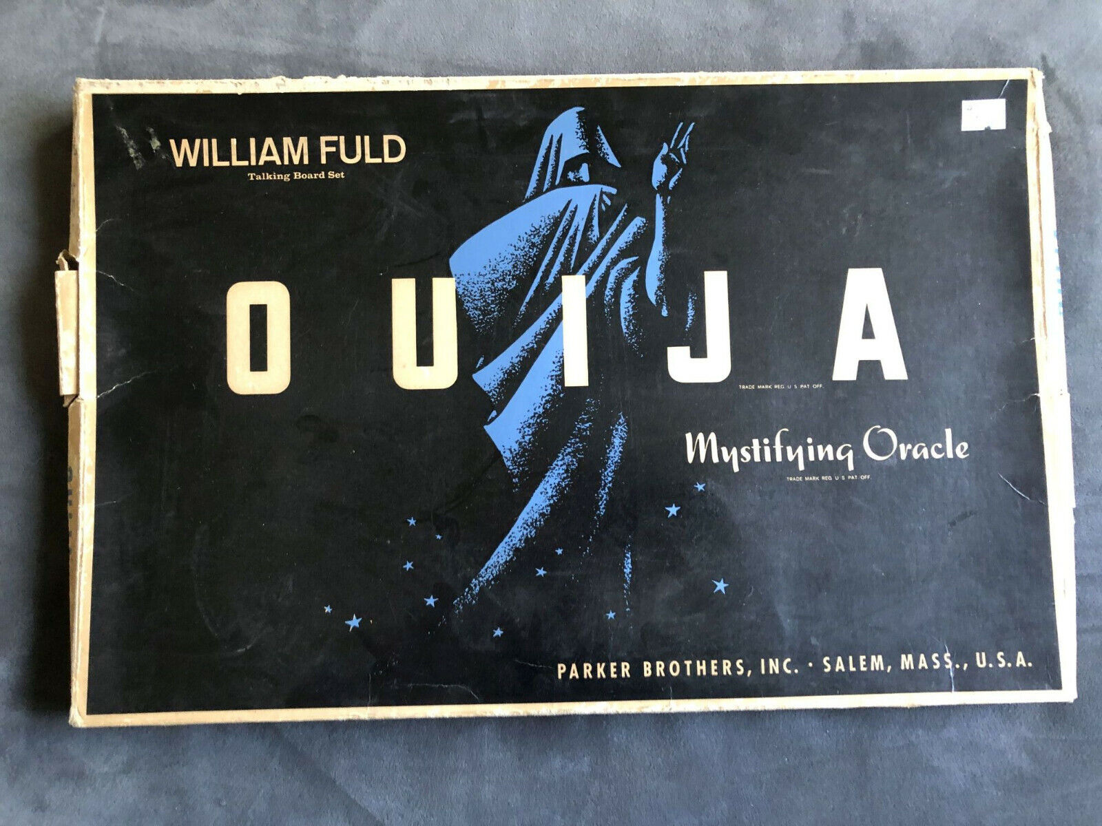 1960 s Ouija Board Planchette - William Fuld - Parker Brothers With Box - $24.50