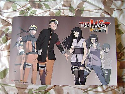 """NYCC '15 Naruto the Last Movie Double-Sided 11"""" x 17"""" Poster"""