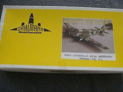 "DAHLMANN Bausatz JUNKERS JU-52/3m ""SANITÄTSFLUGZEUG"" im Maßstab 1:100"