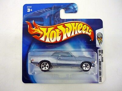 HOT WHEELS NOVA 1968 2004 First Editions Diecast Short Card MOC COMPLETE 2003