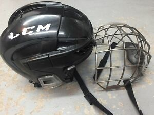 Casque et grille hockey CCM small