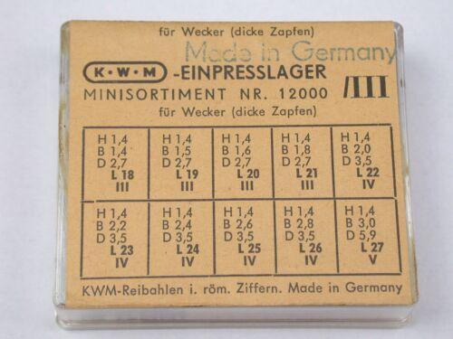 KWM Factory German Friction NOS Bushings Ref 12000 /III. 20G