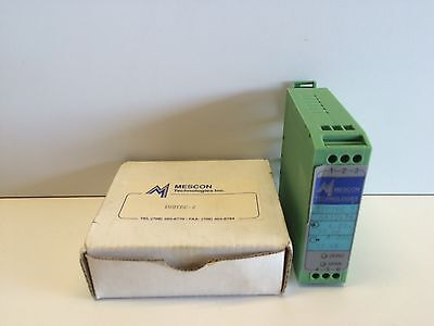 New Old Stock Mescon Isotec-2 Current Loop Powered Isolator 9612978