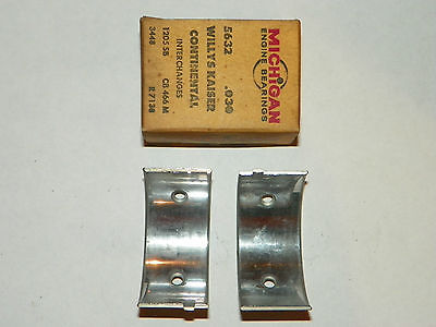 1946-1967 Jeep 226 6cyl .030 rod bearings (1 pair) (for positions 2,4,6)