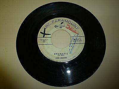 NORTHERN SOUL 45 RPM RECORD - JOEL MOORE - ABC PARAMOUNT 10173 - PROMO