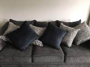 Six cushions